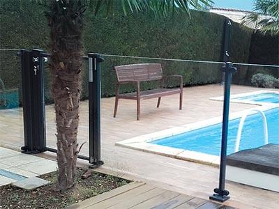 barriere de piscine aluminium sagara