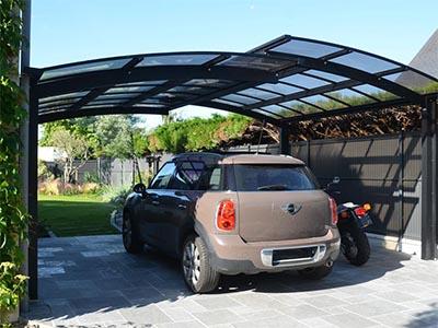 carport pour proteger sa voiture