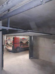 porte de garage de box ral 9016 Blanche